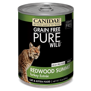 CANIDAE® Grain Free PURE WILD®: Redwood Summit Recipe Canned Cat Food, 13 oz.