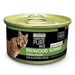 CANIDAE® Grain Free PURE WILD®: Redwood Summit Recipe Canned Cat Food, 3 oz.