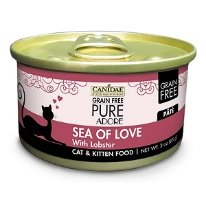 CANIDAE® Grain Free PURE® Adore: Sea of Love Recipe Canned Cat Food, 3 oz.