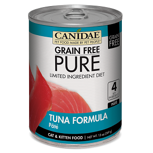 CANIDAE® Grain Free PURE® Limited Ingredient Diet: Tuna Recipe Canned Cat Food, 13 oz.