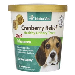 Cranberry Relief® Soft Chew Urinary Tract Support for Dogs