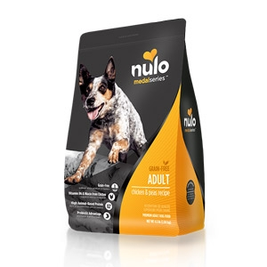 Nulo MedalSeries™ Grain Free Chicken & Peas Adult Dog Food
