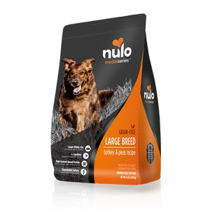 Nulo MedalSeries™ Grain Free Turkey & Peas Large Breed Dog Food