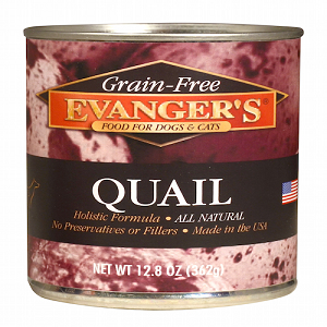 Evanger's Grain Free Quail for Dogs & Cats