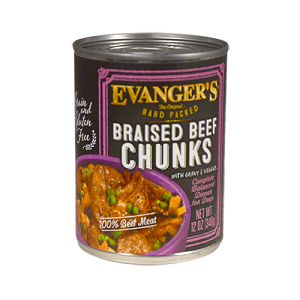 Evanger's HAnd Packed Grian Free Braised Beef with Chunks Dinner - 13oz.