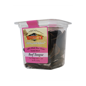 Evanger's Gently Dried Beef Tongue Dog Treats