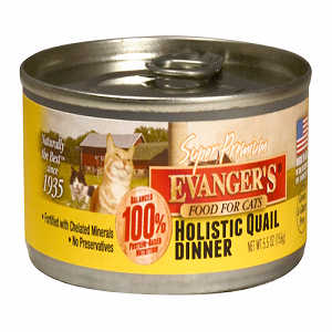Evanger's Holistic Quail Dinner for Cats