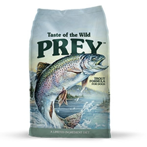 Taste of the Wild® Prey™ Trout Limited Ingredient Formula Dog Food