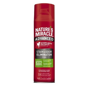 Nature's Miracle® Advanced Dog Stain and Odor Eliminator Foam