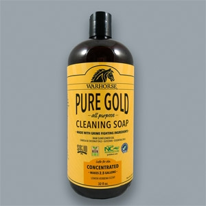 Warhorse® Pure Gold All-Purpose Cleaning Soap