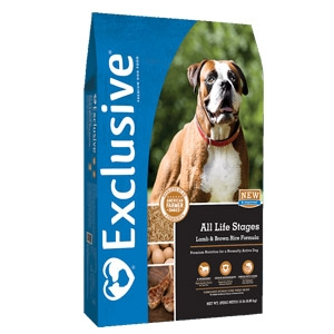 Exclusive® Lamb & Brown Rice All Life Stages Dog Food