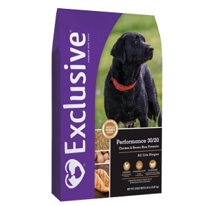 Exclusive® Performance 30/20 Dog Food