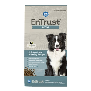 Blue Seal® EnTrust™ Active - Chicken Meal & Barley Recipe for Dogs