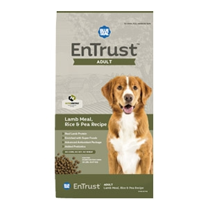 Blue Seal® EnTrust™ Adult - Lamb Meal, Rice, & Pea Recipe for Dogs