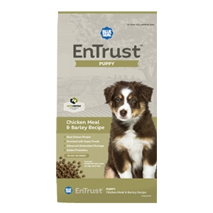 Blue Seal® EnTrust™ Puppy - Chicken Meal & Barley Recipe