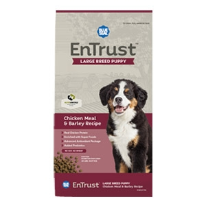 Blue Seal® EnTrust™ Large Breed Puppy - Chicken Meal & Barley Recipe