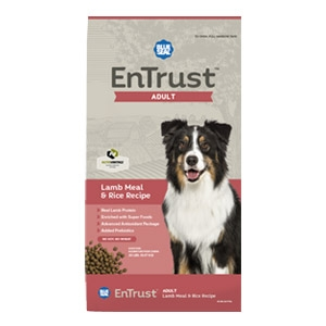 Blue Seal® EnTrust™ Adult - Lamb Meal & Rice Recipe for Dogs
