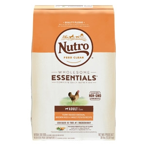 Nutro® Wholesome Essentials™ Chicken, Brown Rice & Sweet Potato Recipe for Adult Dogs