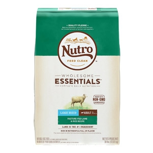 NUTRO™ WHOLESOME ESSENTIALS™ Adult Pasture-Fed Lamb & Rice Recipe Dog Food