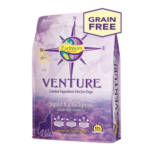 Earthborn Holistic® Venture™ Squid & Chickpeas Dog Food
