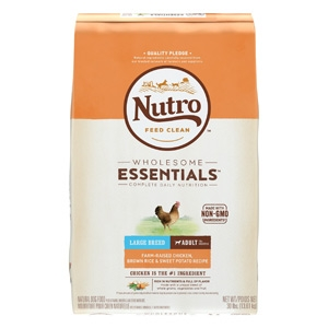 Nutro® Wholesome Essentials™ Chicken, Brown Rice & Sweet Potato Recipe for Large Breed Puppies 15lb
