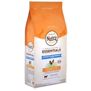 Nutro® Wholesome Essentials™ Chicken & Whole Brown Rice Weight Management Recipe for Adult Cats 6.5lb