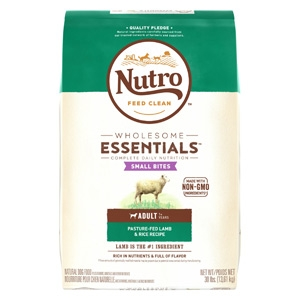 Nutro® Wholesome Essentials™ Lamb & Rice Small Bites Recipe for Adult Dogs 15lb