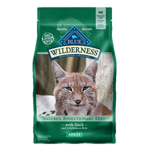 BLUE Wilderness® Duck for Adult Cats 5lb