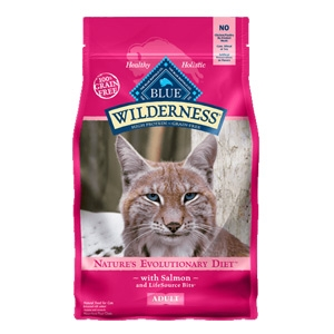 BLUE Wilderness® Salmon for Adult Cats 5lb