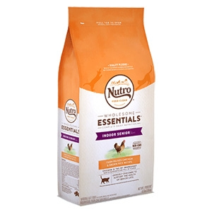 Nutro® Wholesome Essentials™ Chicken & Whole Brown Rice Recipe for Indoor Senior Cats 6.5lb