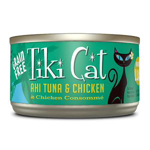 Tiki Cat Hookena Tuna, 8/6 Oz
