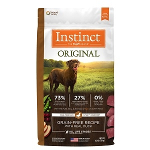 Nature's Variety Instinct Kibble Duck & Turkey Dog 5/4.4 lb.