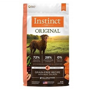 Nature's Variety Instinct Salmon Meal Formula - 4.4 Lb Dog 5/case