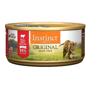 Nature's Variety Instinct Can Cat Beef Formula 24/3 oz.