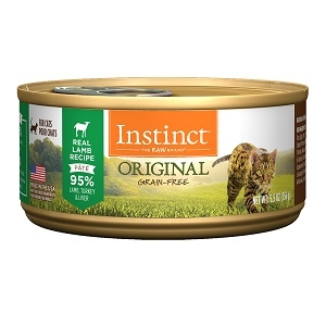 Nature's Variety Instinct Can Cat Lamb 24/3 oz. and 12/5.5 oz