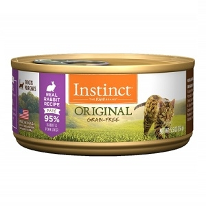 Nature's Variety Instinct Can Cat Rabbit 24/3 oz. and 12/5.5 oz