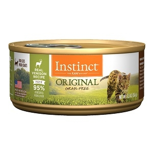 Nature's Variety Instinct Can Cat Venison 24/3 oz. and 12/5.5 oz