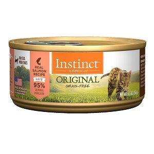 Nature's Variety Instinct Salmon Can Cat 12/5.5OZ