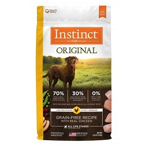 Nature's Variety Kibble Instinct Chicken 5/4.4 lb.