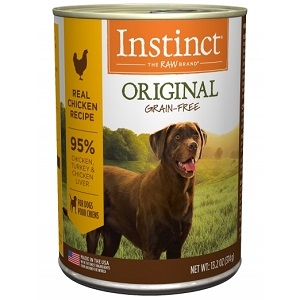 Nature's Variety Instinct can dog chicken 12/13.2 oz