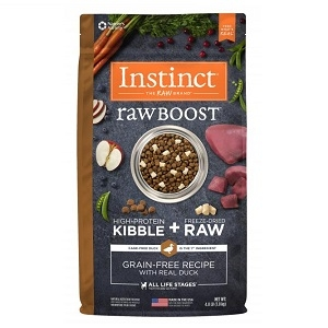 Nature's Variety Instinct Raw Boost Kibble Canine - Duck 23.5lb