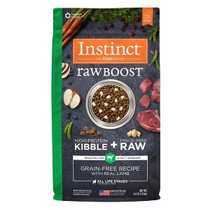Nature's Variety Instinct Raw Boost Canine Kibble - Lamb Meal Formula
