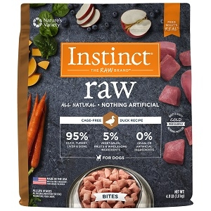 Nature's Variety Instinct Raw Bites Duck Formula - Trial Size 0.65lb