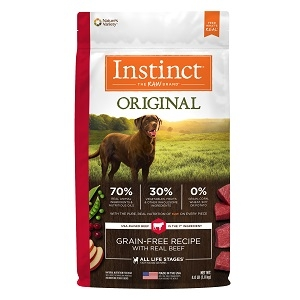 Nature's Variety Instinct Beef Meal/Lamb Meal Diet 5/4.4 lb