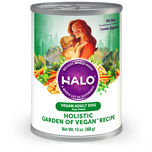 Halo Holistic Garden of Vegan® Recipe for Dogs, 13.0 oz