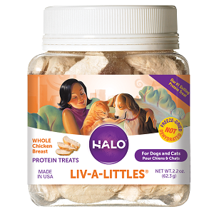 Halo Liv-A-Littles® Freeze-Dried Chicken Breast Protein Treats