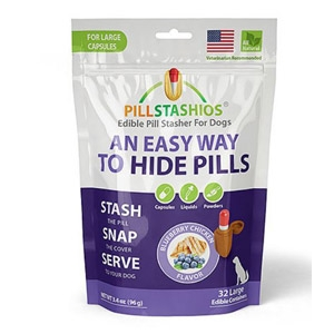 PillStashios Blueberry Chicken Flavored Edible Pill Stasher