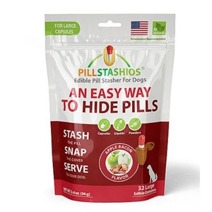 PillStashios Apple Bacon Flavored Edible Pill Stasher