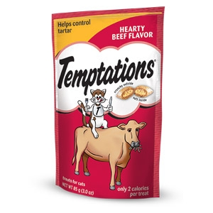 Temptations® Hearty Beef Classic Flavor Treats for Cats