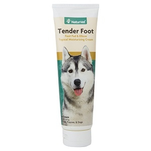 Naturvet Tender Foot, Foot Pad & Elbow Cream For Dogs 5oz
